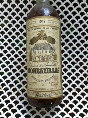 A bottle from 1947. Still a wonderful wine after 68 years!